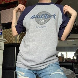 vintage hard rock cafe shirt